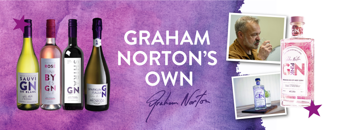 Gin online wine shop - Wine Delivered FREE delivery Graham Norton's OWN