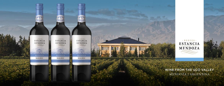 Wine Delivered FREE delivery Estancia-Mendoza