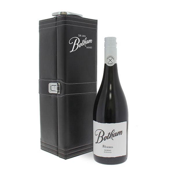 Wine Gifts BOTHAM-80-CAB-SAV-LEATHER-CASE