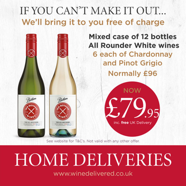 Case of 12 White Wines All Rounder