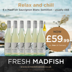 Madfish Savignon Blanc 6 bottle offer