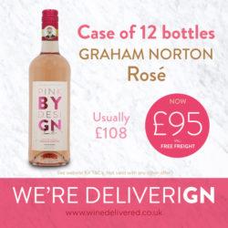 FREE WINE DELIVERED OUR TOP PICKS FOR YOU - Graham Norton Rose wine 12 bottles Wine Delivered