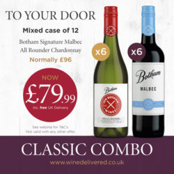 To you door Mixed case of 12 Botham Signature Malbec All rounder Chardonnay