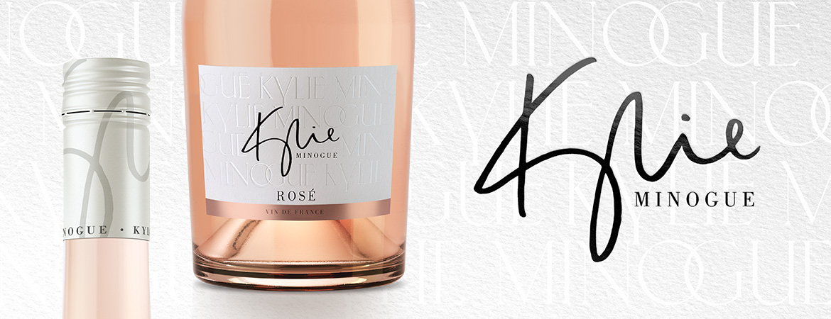 Kylie Minogue Wines | Vin De France Rosé Beautifully pale pink shade