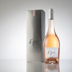 Kylie rosé and gift box