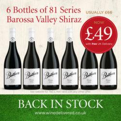 81 Series Shiraz offer FREE Online Wine Delivered