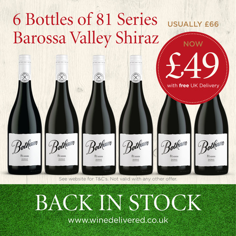 81 Series Shiraz offer FREE Online Wine Delivered