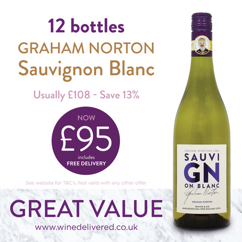 Graham Norton Sav Blanc offer