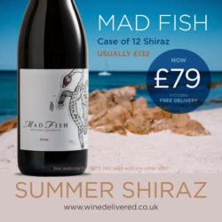 Mad Fish Shiraz 12 FREE Online Wine Delivered