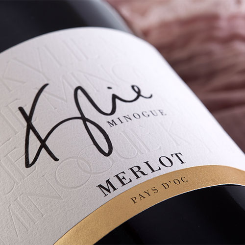Kylie Minogue Merlot Label