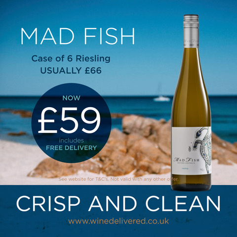 Mad Fish Riesling offer