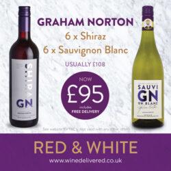 Graham Norton Mixed case of Red & White