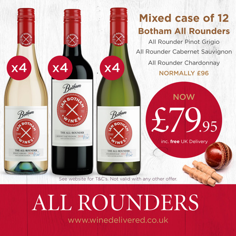 All Rounder mixed case of 12