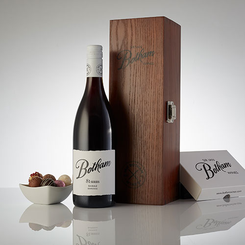 Botham 81 series shiraz with truffles box