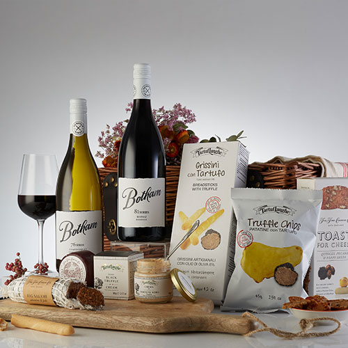 Wine Hamper Gifts Botham Truffle Hamper