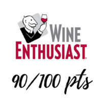 Wine Enthusiast award