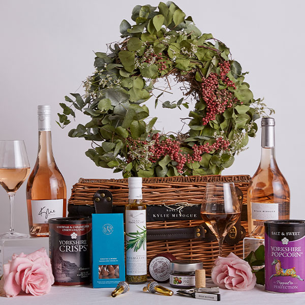 Kylie Minogue Rosé Hamper