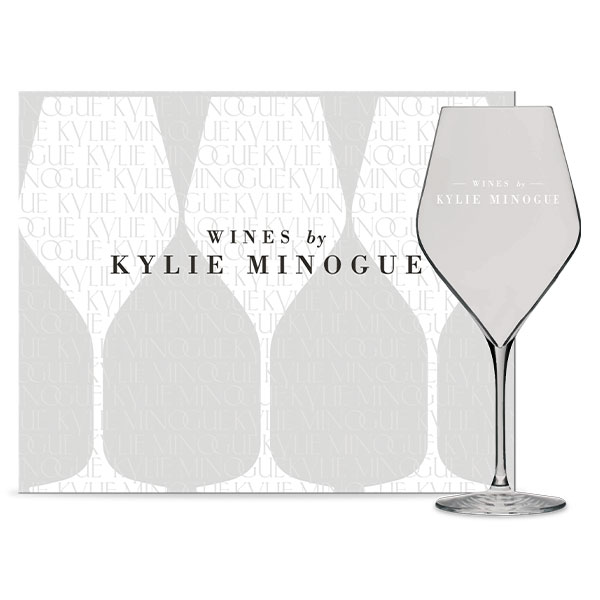 Kylie Minogue Wine Glasses chic wine glasses are expertly hand-crafted