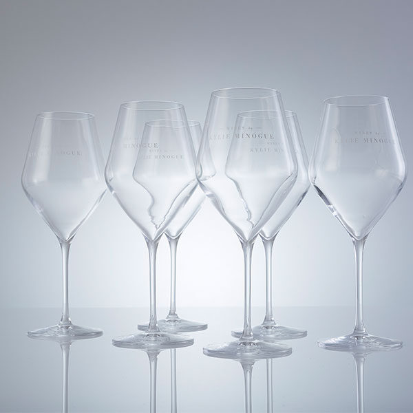 Kylie Minogue Glasses set of 6
