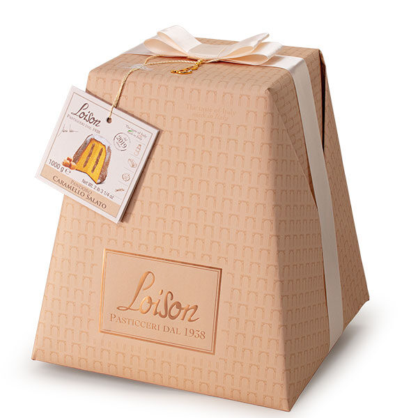 LOISON GENESI PANDORO CHOCOLATE AND SALTED CARAMEL 1kg