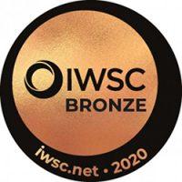 IWSC bronze 2020