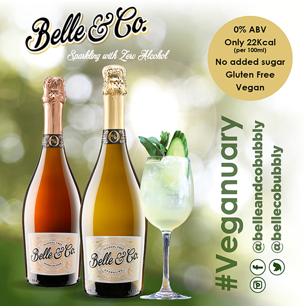 Belle & Co zero alcohol wine