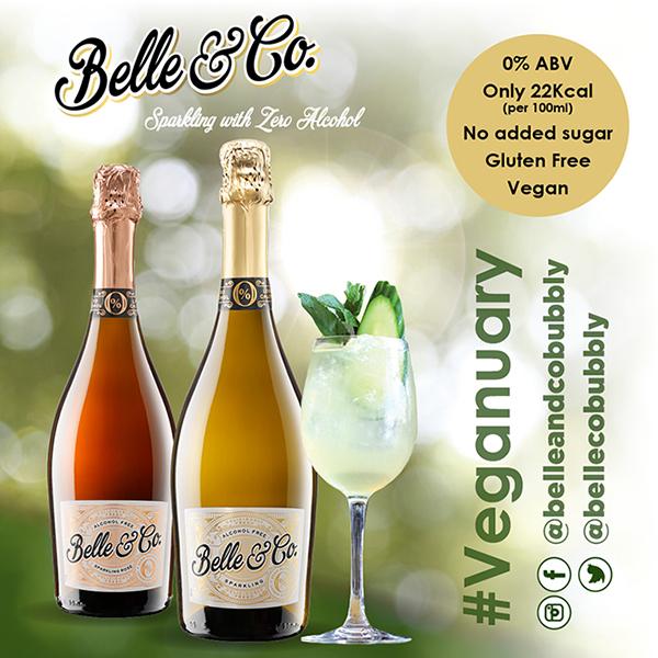 Belle & Co zero alcohol wine