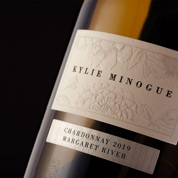 Kylie Minogue Chardonnay Label