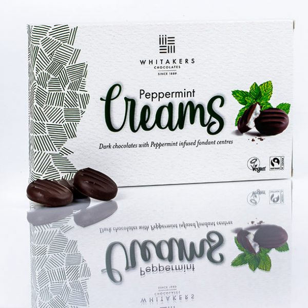 DARK CHOCOLATE MINT CREAMS