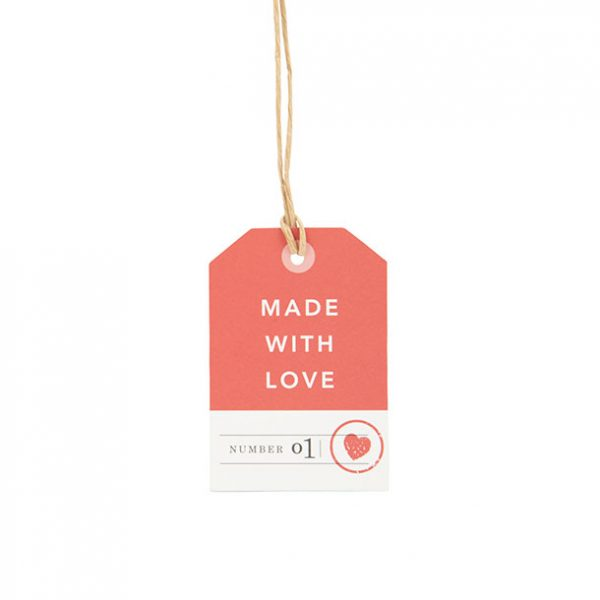 Made with Love Gift tag