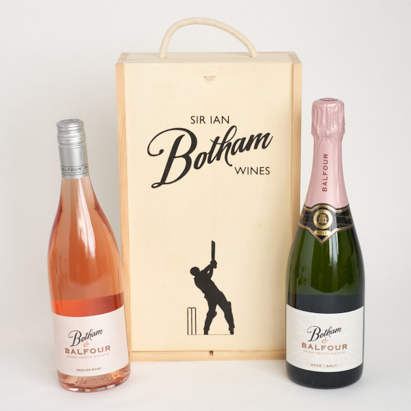 Botham & Balfour Rosé in a gift box