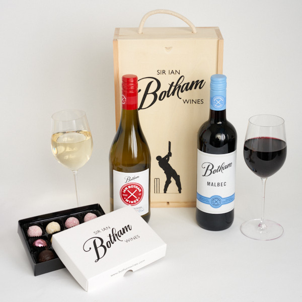 Botham All Rounder Chardonnay & Malbec with Truffles