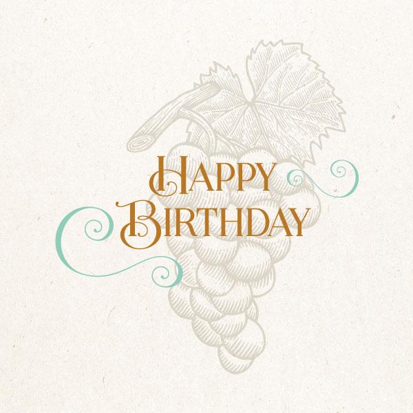 Classic Birthday Gift Card