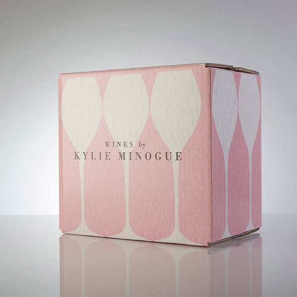 Kylie Minogue Champagne Box