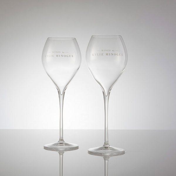 Kylie Minogue Champaign Glass x 2