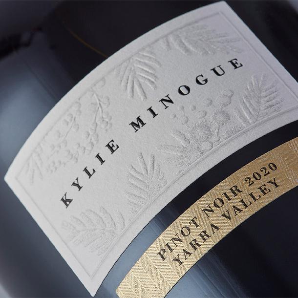 Kylie Minogue Wine Pinot Noir Beauty Shot