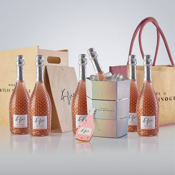 Kylie Minogue Prosecco and Ice Bucke gidt set