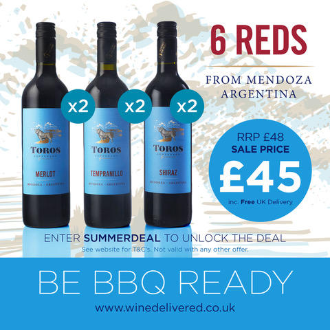 BBQ Offer cheap wine delivered free
