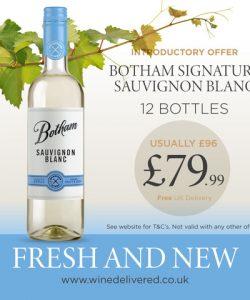 12 Botham Signature Sauvignon Blanc -Botham Signature SB WD