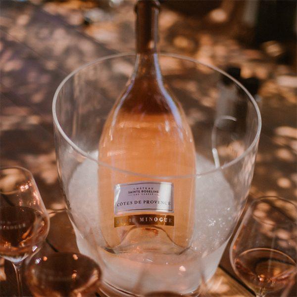 Kylie Minogue wine Cru Classe ice bucket