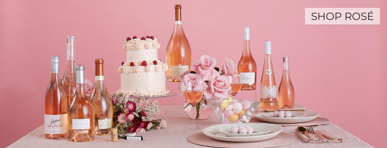 Kylie Rose shop rose wine UK