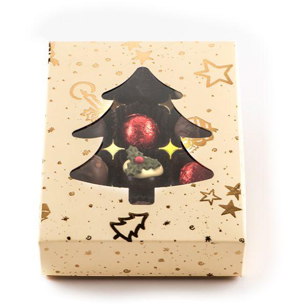 Christmas Tree Truffle box