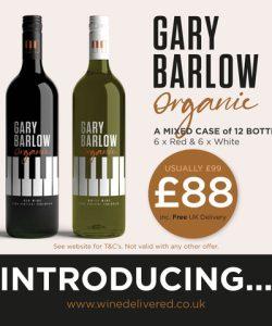 A Mixed Case of Gary Barlow Organic Wines